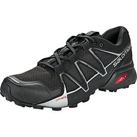 Salomon Speedcross Vario 2 Shoes Herre black/black/silver metallic-x